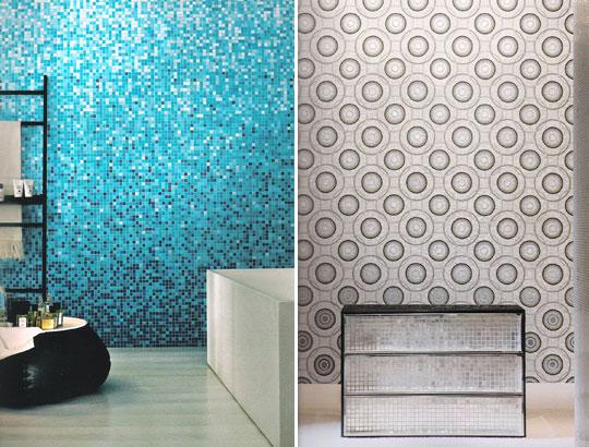 Mosaico ceramico in pasta vetrosa rivestimenti bagno - Rivestimenti bagno mosaico ...