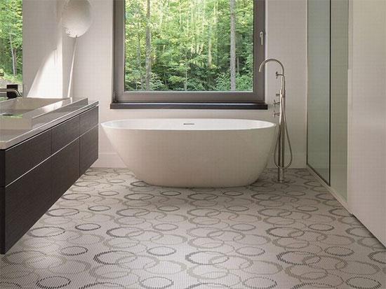 Mosaico ceramico in pasta vetrosa rivestimenti bagno - Rivestimenti bagno milano ...