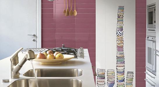 Piastrelle e rivestimenti per la cucina commerciale - Rivestimento cucina no piastrelle ...